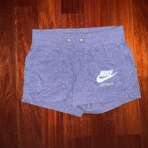 Nike Women's Blue Athletic Shorts